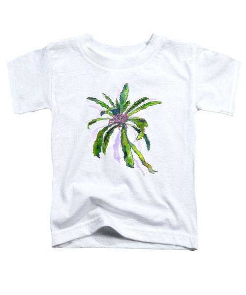 Hawaiian Haha Plant Cyanea Stictophylla Toddler T-Shirt