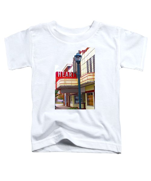Heart Theatre Effingham Illinois  Toddler T-Shirt