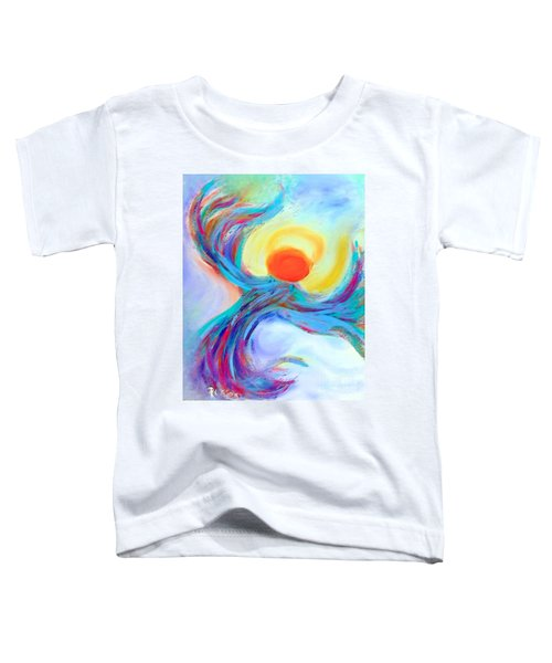 Heaven Sent Digital Art Painting Toddler T-Shirt