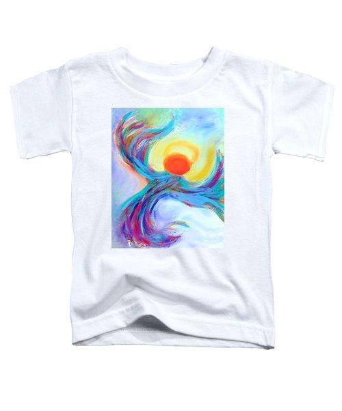 Heaven Sent Digital Art Painting Toddler T-Shirt
