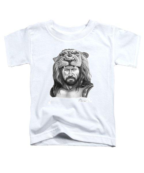 Hercules-dwayne Johnson Toddler T-Shirt