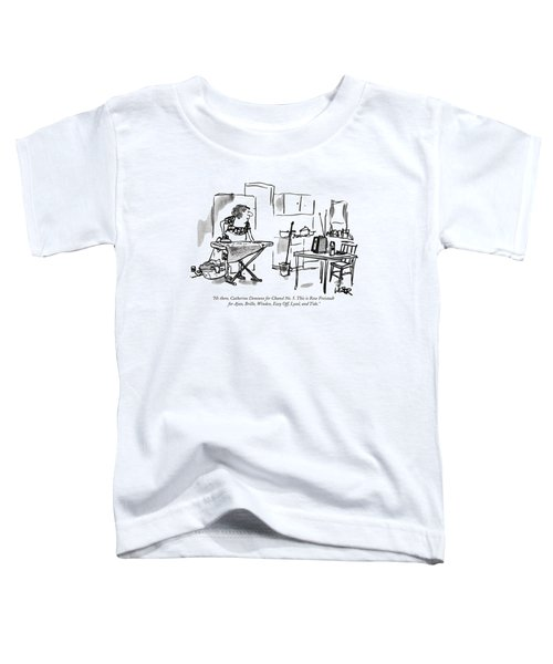 Hi There, Catherine Deneuve For Chanel No. 5 Toddler T-Shirt