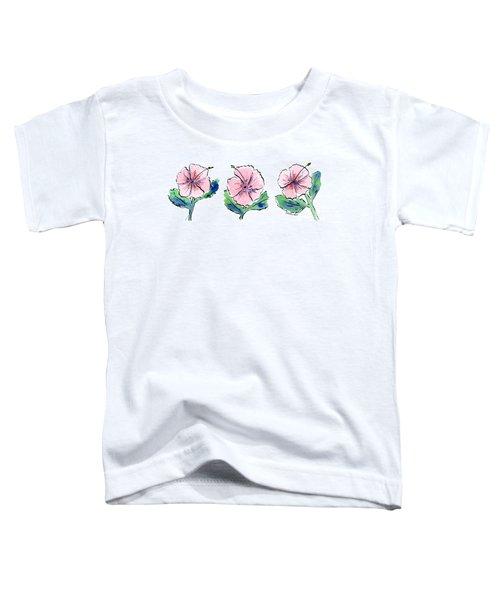Hibiscus Trio Toddler T-Shirt