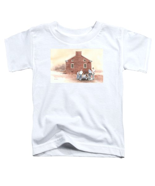 High Noon Shootout At The Tidal School  Toddler T-Shirt