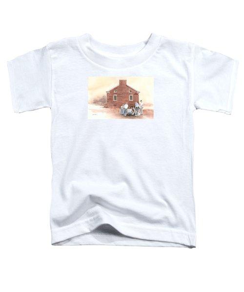 High Noon Shootout At The Tidal School  Toddler T-Shirt