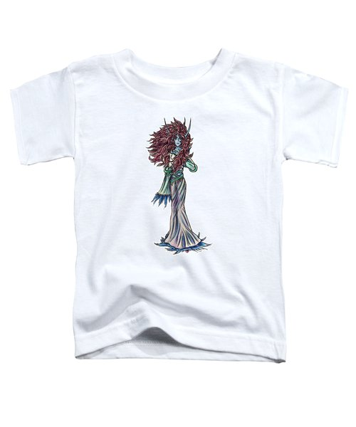 Toddler T-Shirt featuring the painting High Ogre Elessidia by Shawn Dall