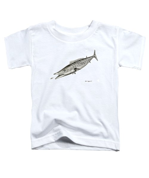 High Speed Wahoo Toddler T-Shirt
