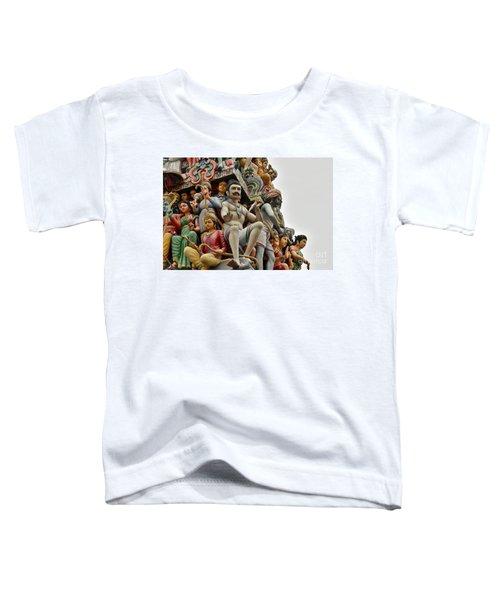 Hindu Gods And Goddesses At Temple Toddler T-Shirt