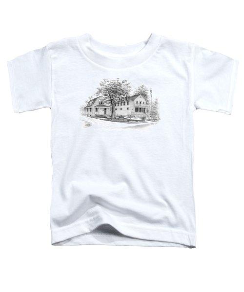 Historic Jaite Mill - Cuyahoga Valley National Park Toddler T-Shirt