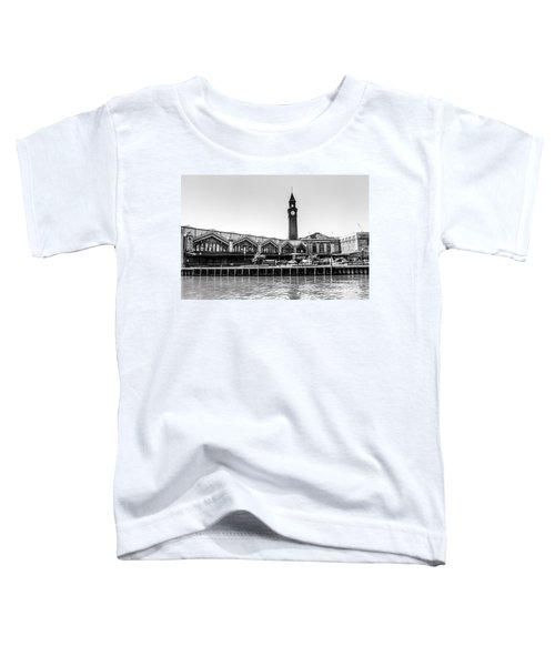 Hoboken Terminal Tower Toddler T-Shirt