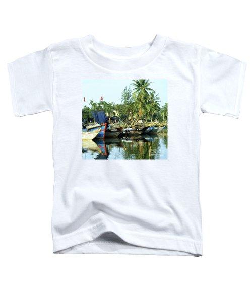 Hoi An Fishing Boats 01 Toddler T-Shirt