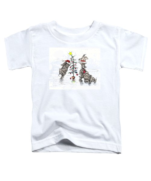 Holiday Ice Toddler T-Shirt