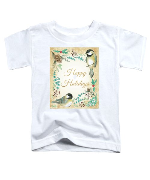 Holiday Wishes II Toddler T-Shirt