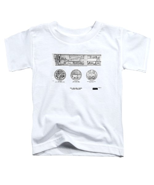 Holland Tunnel Construction Toddler T-Shirt