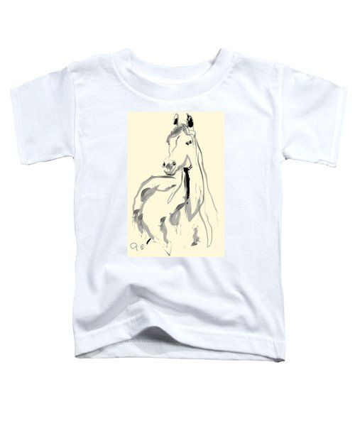 Horse - Arab Toddler T-Shirt