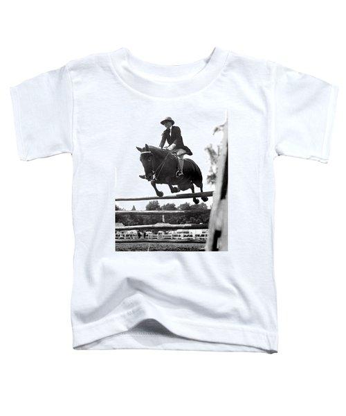 Horse Show Jump Toddler T-Shirt