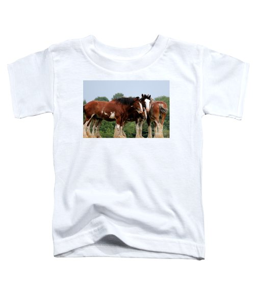 Horsie Huddle Toddler T-Shirt