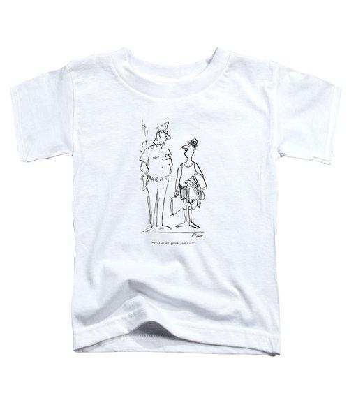 Hot As All Getout Toddler T-Shirt