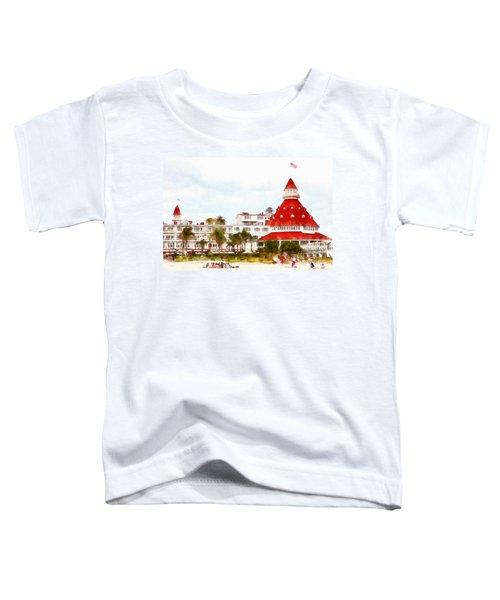 Hotel Del Coronado In Coronado California 5d24256wcstyle Toddler T-Shirt