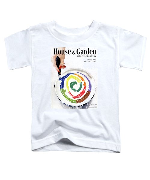 House & Garden Cover Of A Woman's Hand Stirring Toddler T-Shirt