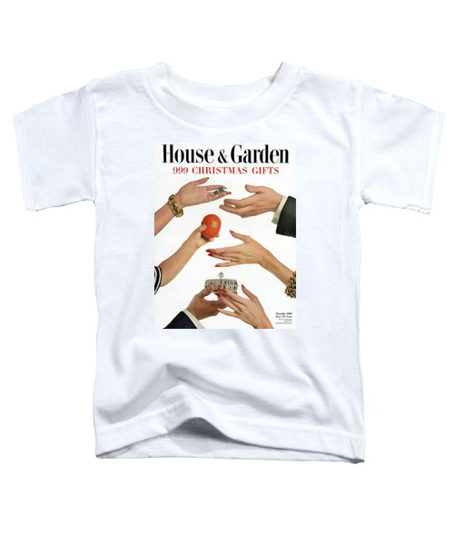 House And Garden 999 Christmas Gifts Cover Toddler T-Shirt