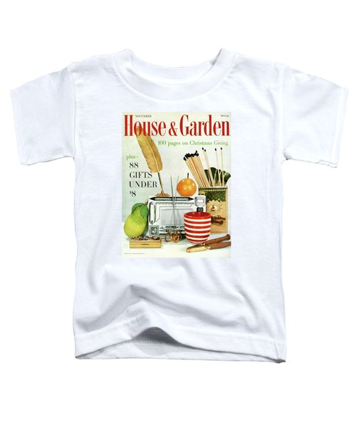 House And Garden Christmas Giving Issue Toddler T-Shirt