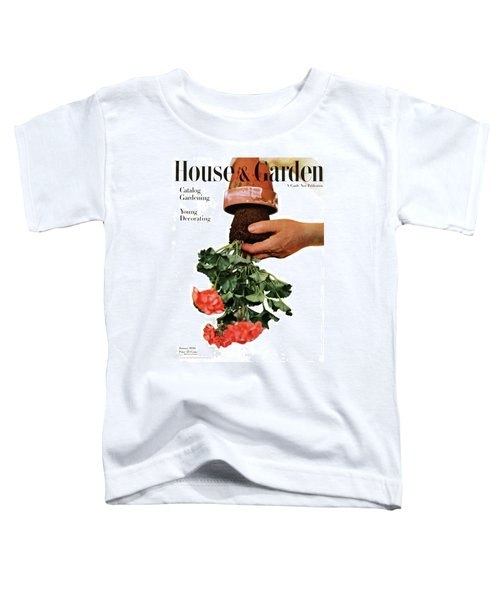 House And Garden Cover Featuring A Person Toddler T-Shirt