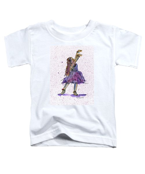 Hula Series Lokelani Toddler T-Shirt