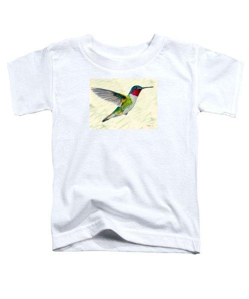 Da103 Broadtail Hummingbird Daniel Adams Toddler T-Shirt