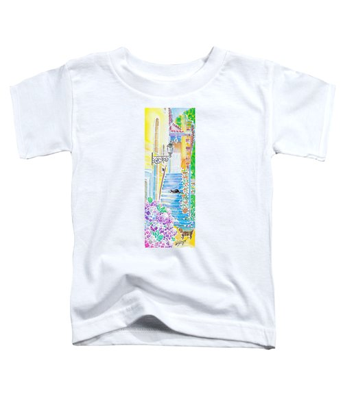 Hydrangeas And The Hotel Toddler T-Shirt