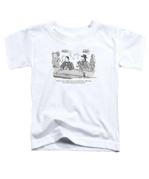 I Shot A Man In Reno Toddler T-Shirt