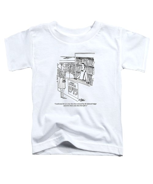 I Understand The Sex Scenes Have Been Removed But Toddler T-Shirt by Peter Steiner