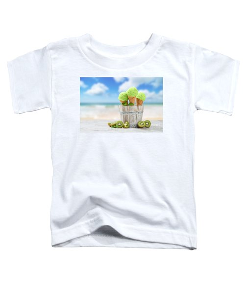 Ice Cream At The Beach Toddler T-Shirt