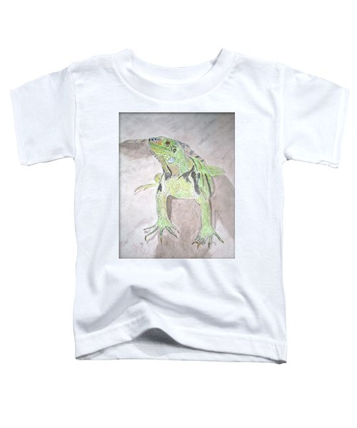 Iguana Toddler T-Shirt