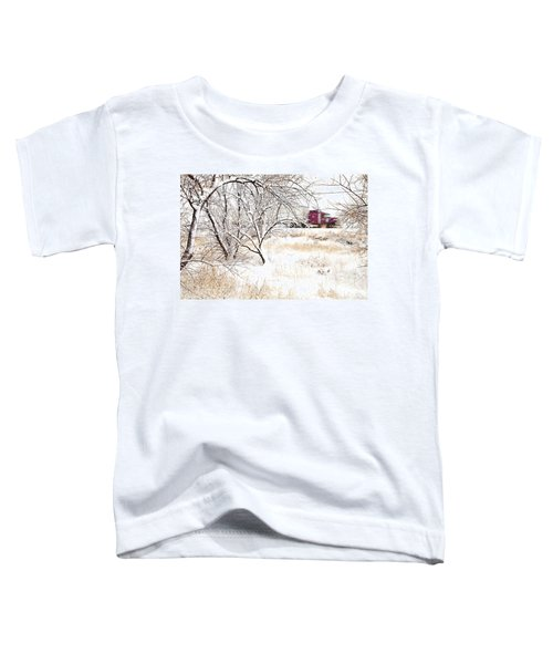 I'll Be Home For Christmas Toddler T-Shirt