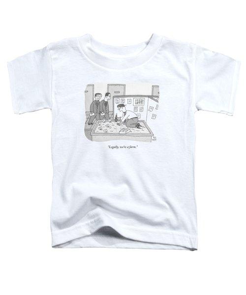 In An Office Toddler T-Shirt