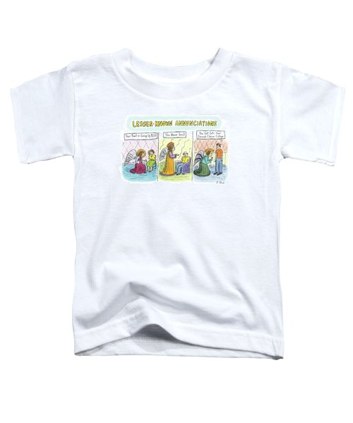 In The First Panel Toddler T-Shirt
