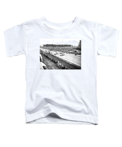 Indy 500 Auto Race Toddler T-Shirt
