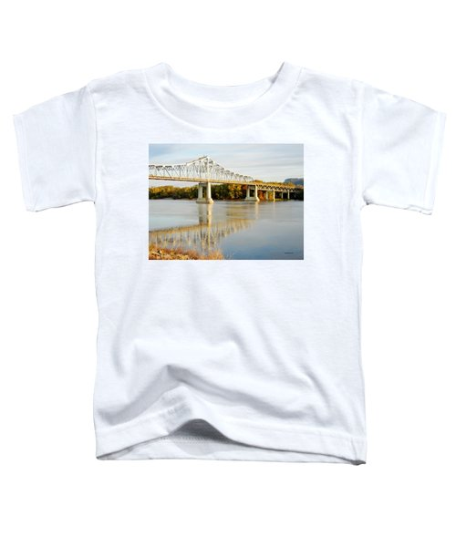 Interstate Bridge In Winona Toddler T-Shirt