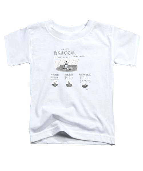 Introducing Brocco. The World's First Toddler T-Shirt