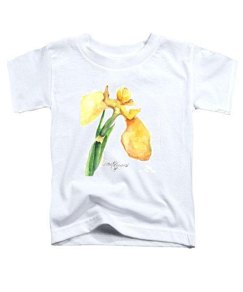 Iris Blooms  Toddler T-Shirt