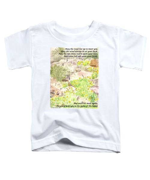 Irish Blessing Toddler T-Shirt