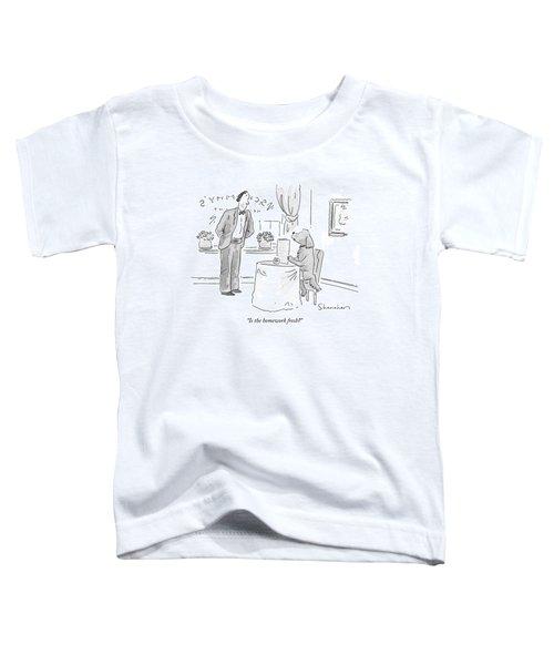 Is The Homework Fresh? Toddler T-Shirt