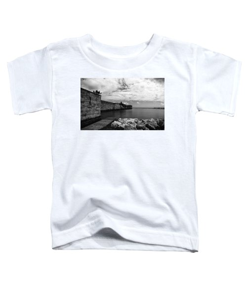 Island Fortress  Toddler T-Shirt