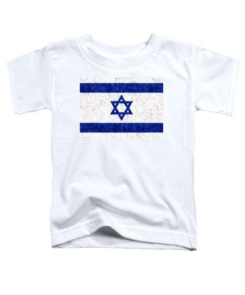 Israel Star Of David Flag Batik Toddler T-Shirt