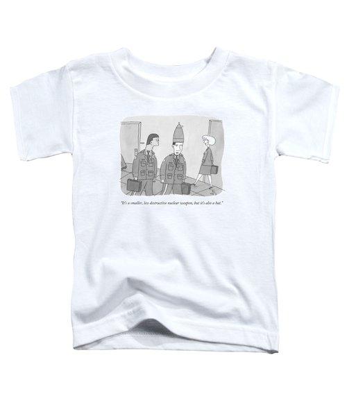 It's A Smaller Toddler T-Shirt