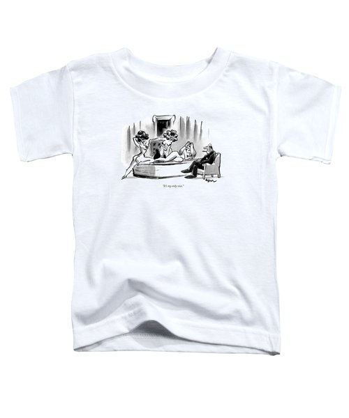 It's My Only Vice Toddler T-Shirt