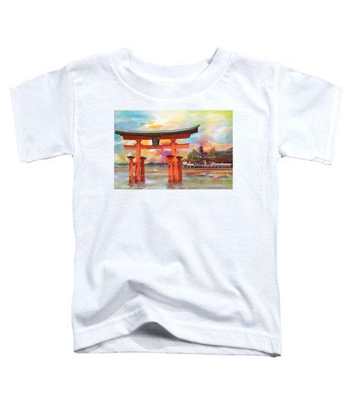 Itsukushima Shrine Toddler T-Shirt