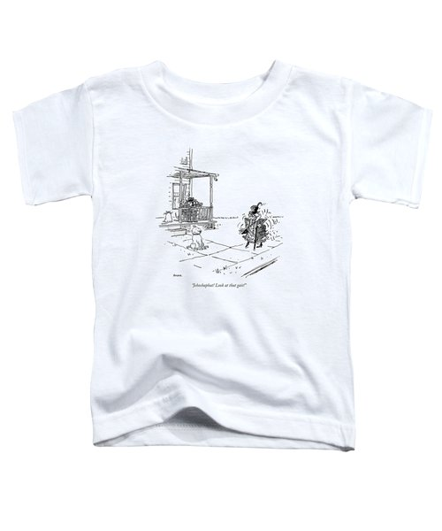 Jehoshaphat! Look At That Gait! Toddler T-Shirt