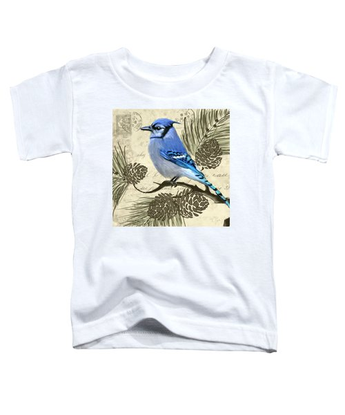 Jeweled Blue Toddler T-Shirt by Lourry Legarde